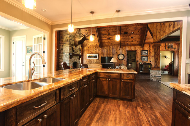 Texas Ranch  Traditional  Kitchen  houston  by Ambiance