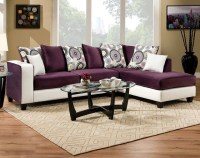 Implosion Purple 2 Piece Sectional Sofa - Living Room - by ...