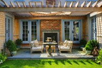 Sconset Residence transitional-patio