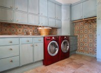 Laundry Room Tile - Mediterranean - Laundry Room - dallas ...