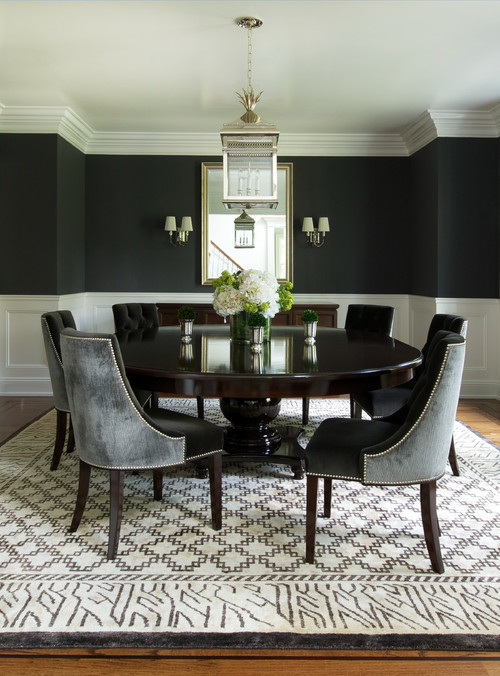 Transitional Dining Room By Mill Valley Interior Designers U0026 Decorators  Shirley Parks Design