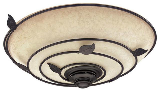 Hunter Organic Bathroom Fan with Light  Modern  Bathroom