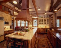 Western Homestead Ranch Kitchen - Rustic - Kitchen ...