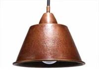 """7.5"""" x 6.5"""" Copper Pendant (#2) - Rustic - Pendant ..."""