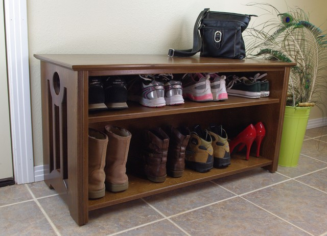Mac Shoe Boot Storage Bench Contemporary Accent And