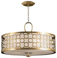 Fine Art Lamps Allegretto Gold Pendant, 780140-2ST ...