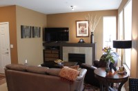 Small Condo makeover - Contemporary - Living Room - other ...