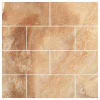 Crema Caramel Onyx Polished 3x6 Subway Tile - Contemporary ...