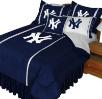 MLB New York Yankees Comforter Set NY Logo Baseball ...