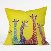Clara Nilles Polyester Jellybean Giraffes Indoor/Outdoor ...