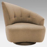Odion Swivel Accent Chair - Contemporary - Living Room ...