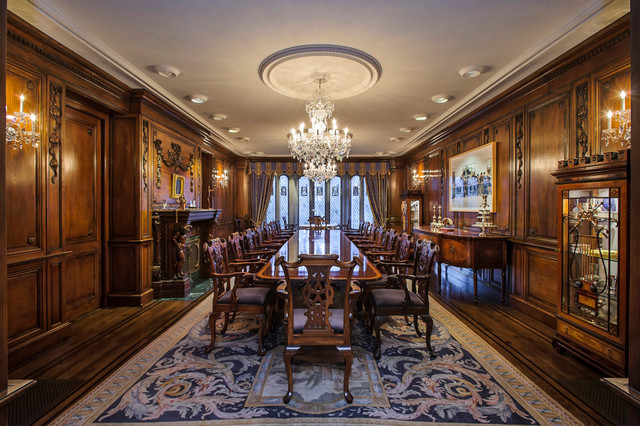 Chiltern Estate Eclectic Dining Room San Francisco