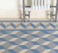 Bathroom Floor - Art Deco Floor Tiles - Traditional - Tile ...