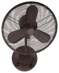 "Craftmade BW116AG3 16"" Wall Mount Fan - Transitional ..."