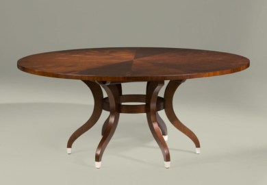 Ethan Allen Oval Dining Table