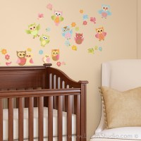 Baby Owls Wall Decals - Wall Decals - san francisco - by ...