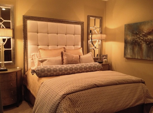 Elegant Master Bedroom In A Small Space Eclectic