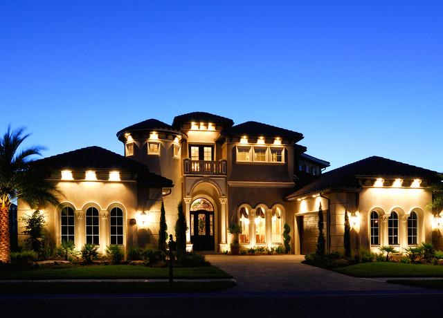Christopher Burton Luxury Homes  Mediterranean  Exterior
