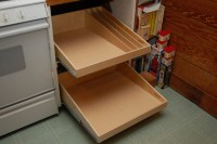 Pull Out Shelves for Base Kitchen Cabinets - Cabinet And ...