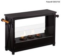 Lockport Portable Indoor/Outdoor Gel Fireplace ...