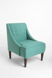 Madeline Chair, Turquoise - Contemporary - Armchairs And ...