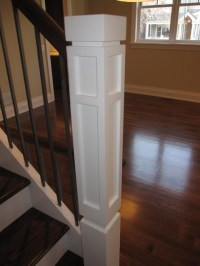 Newel posts - Modern - Staircase - chicago - by Follyn ...