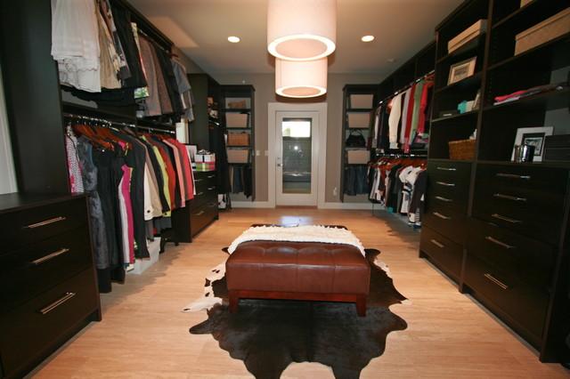 Master WalkIn Closet  Contemporary  Closet  by Taylor