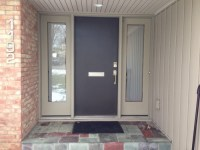 Want to replace tile on front door step. Want a modern and ...