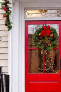I'd like to paint my back door red----it's a metal door ...