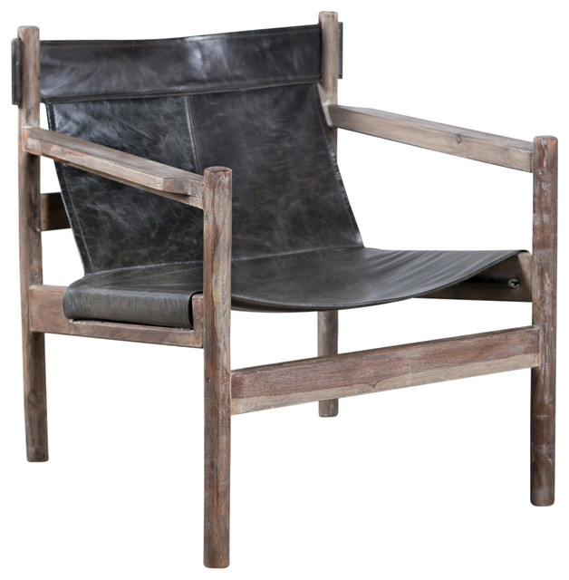 Arlan Sling Chair  Rustic  Armchairs And Accent Chairs