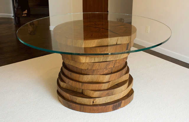 How To Build Diy Round Kitchen Table Plans Plans