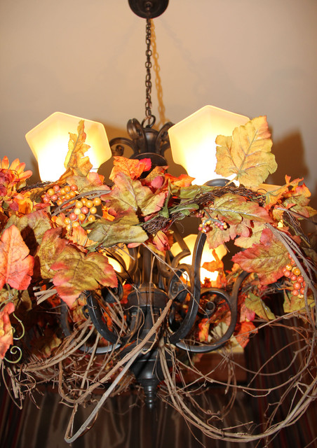 Rustic Grapevine Chandelier  Traditional  seattle