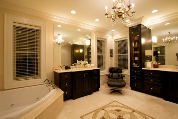 interior designer bathrooms Joni Spear Interior Design - Traditional - Bathroom - st
