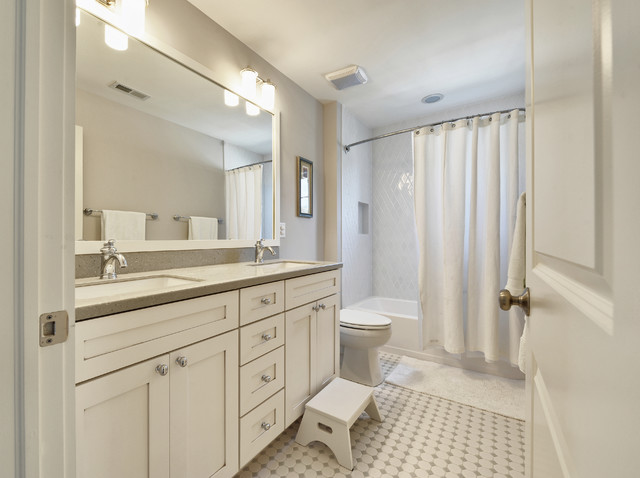 Banjo Bathroom Countertops Kids Bath - Traditional - Bathroom - Philadelphia - By