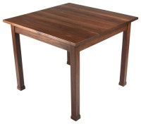 Black Walnut Kitchen Table - Transitional - Dining Tables ...