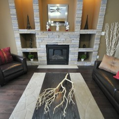 Hanging Chair Edmonton Revolving Meaning In Hindi Staging Or Styling A Fireplace Area - Modern Living Room By Revealing Assets ...