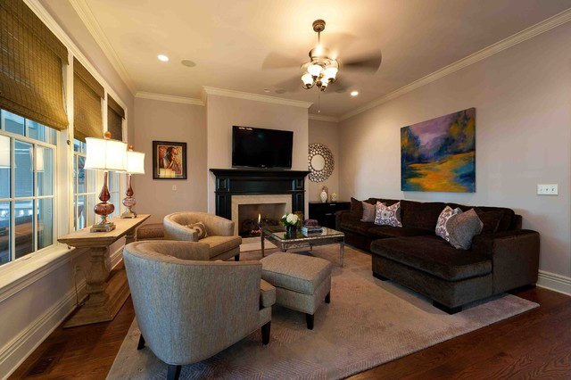 Living Room  Traditional  Family Room  dc metro  by