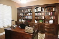 Pin Custom-built-home-office-cabinets-in-oak-hill-virginia ...