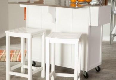 Kitchen Island Portable Bar