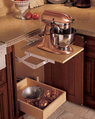 kitchen aid toaster oven outside kitchens creative ways to hide your small appliances