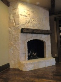 Austin Stone Fireplace - Traditional - Family Room ...