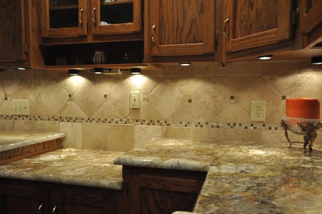 Granite Countertops and Tile Backsplash Ideas