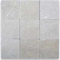 Seagrass Limestone Tile 4x4 Tumbled - Traditional - Wall ...