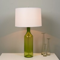Clearly Colorful Bottle Glass Table Lamp - Lamp Shades ...