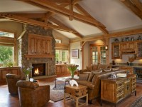 Gamble Residence - Rustic - Living Room - denver - by MQ ...