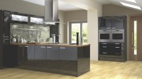 High Gloss Black Cook & Lewis Kitchen - Contemporary ...