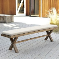 Jardine Bench Cushion - Contemporary - Outdoor Benches ...