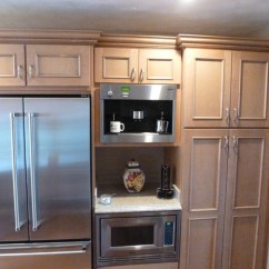 Kitchen Microwave Cabinet Hood Exhaust Fan Portfolio - Traditional Huntington ...