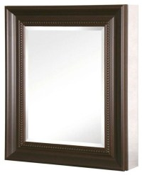 24in. x 30in. Recessed or Surface Mount Mirrored Medicine ...