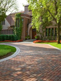 Brick Driveway Home Design Ideas, Pictures, Remodel and Decor